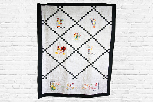 """Birds of a Feather 60""""x43"""" Premium Quilt Kit"""
