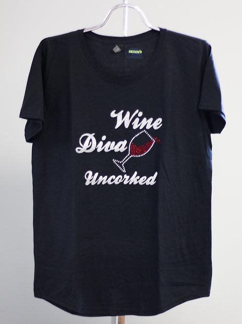 Wine Diva Uncorked Shirt