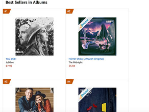 Jubillee Storm the charts!