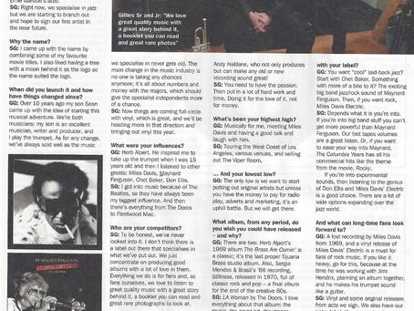 Record Collector Magazine!