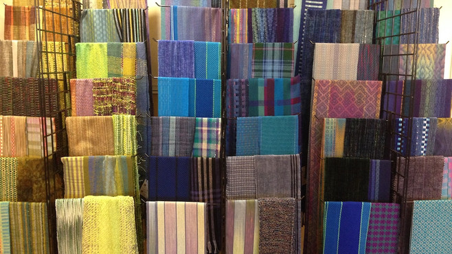 2019 Sale Wall of Scarves, AIC