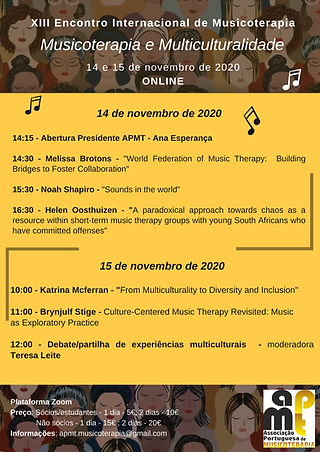 XIII Encontro Internacional de Musicoter
