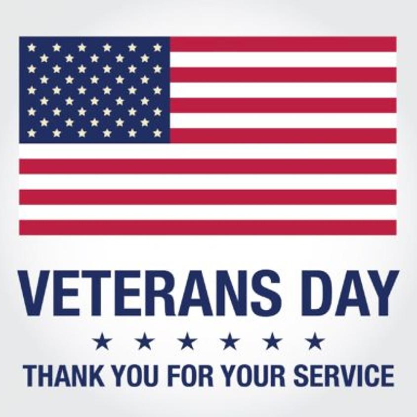 Honoring Veterans Sunday