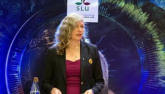 Maria Knutson Wedel, SLU's Vice-Chancellor