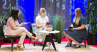 Interview with Linn Torstensson and Rebecca Johansson during Thesis Day 2020.