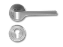 Stainless Steel On Rose Lever Handle DFX007