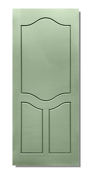 solid timber door norm 23 jungle green