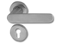 Stainless Steel On Rose Lever Handle DFX010