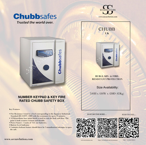 Chubb Safe Electronic Home Safe