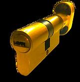 Tesa cylinder restricted key