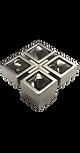 cystal cabinet knob Asterisco astck10