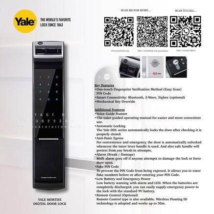 Yale Digital Door Lock YDM4109RL