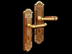 Mobile antique back plate lever handle mbaop7