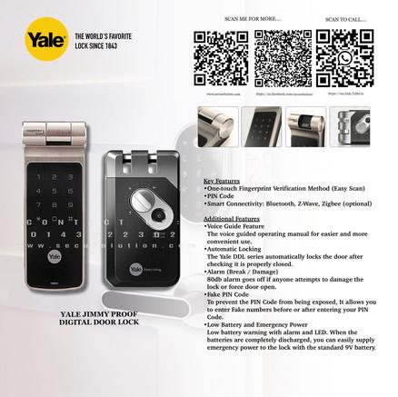 Yale Digital Door Lock YDR41