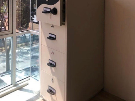 CHUBB Fire Resistant Cabinet 5204 (Safe Box Supplier In Kuala Lumpur)