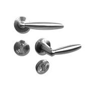 Mobile solid stainless steel lever handle mb33