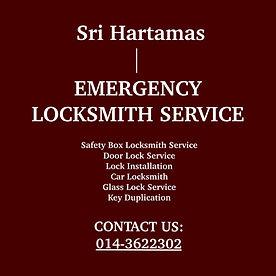 Sri Hartamas Emergency Locksmith Service