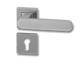 Stainless Steel On Rose Lever Handle DFX015