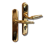 Mobile back plate lever handle mbop4