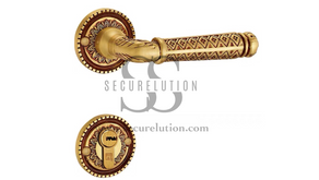 Antique Design On-Rose Lever Door Handle MOBILE MB1 (Kuala Lumpur)