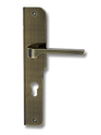 Stainless Steel On Plate Lever Handle DFX006