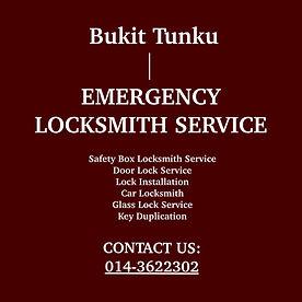 Bukit Tunku Emergency Locksmith Service