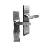 Mobile back plate lever handle mbop1