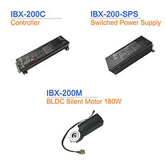IBX-200-Accessories Controller, Switch Power Supply, BLDC Silent Motor