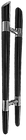 custom made wooden pull handle wph1