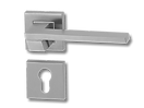 Stainless Steel On Rose Lever Handle DFX013