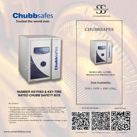 Chubb electronic home safety box