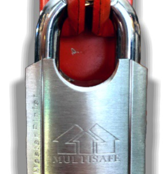 Multisafe Padlock with Shacker 54mm (Special Key) (Kuala Lumpur)