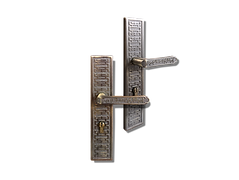 Mobile antique back plate lever handle mbaop2