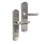 Stainless Steel On Plate Lever Handle DFX009