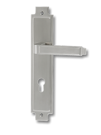 Stainless Steel On Plate Lever Handle DFX008