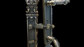 Antique Front Door Lock Handle Set (Kuala Lumpur)