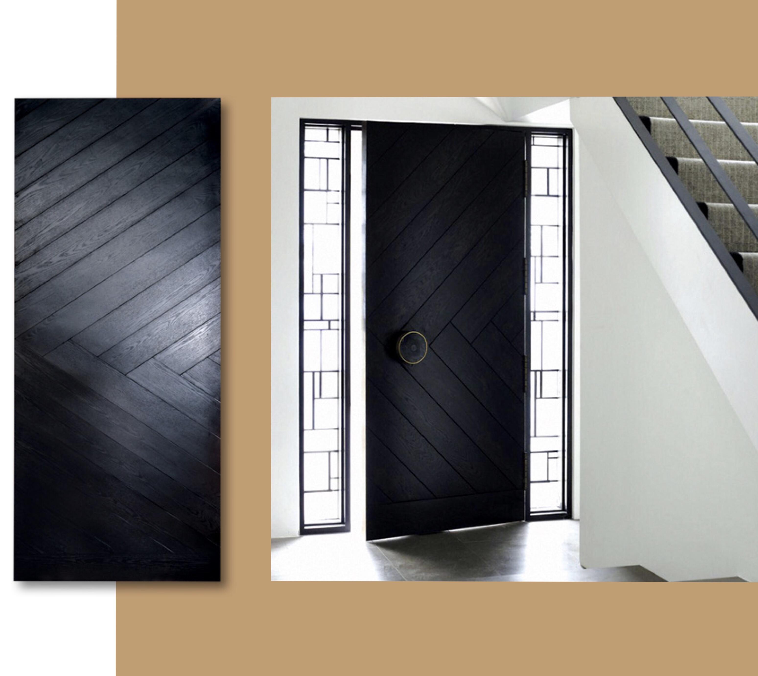 Dark Wood Solid Door