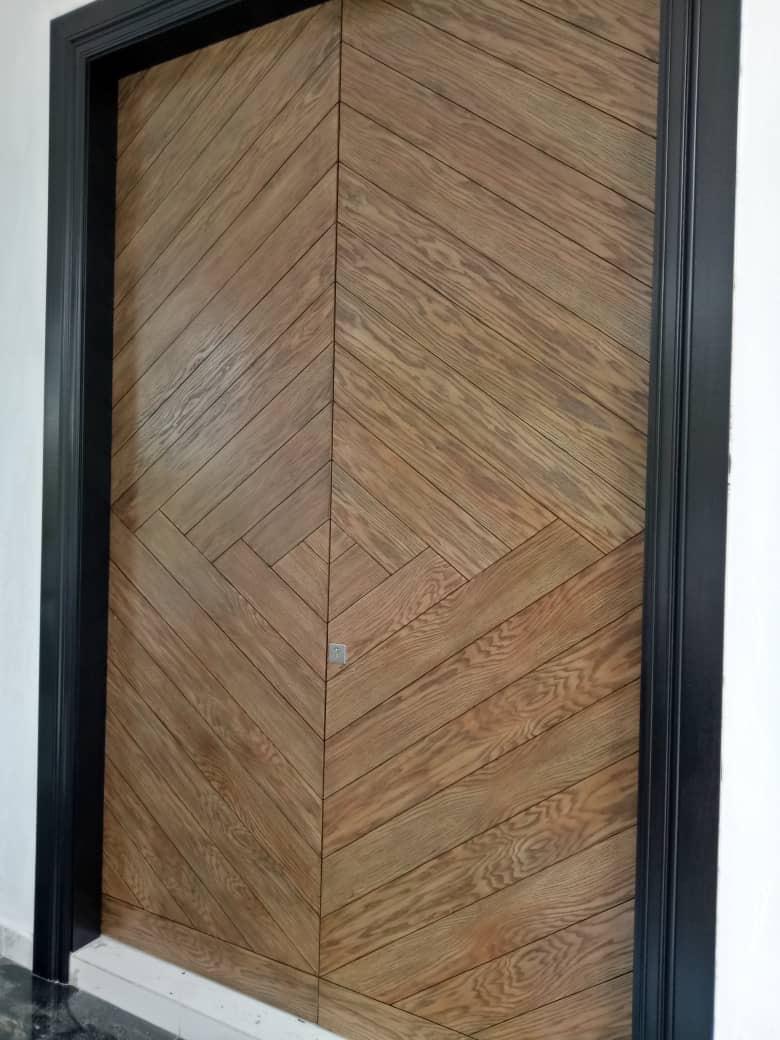 Solid Double Leaf Timber Door