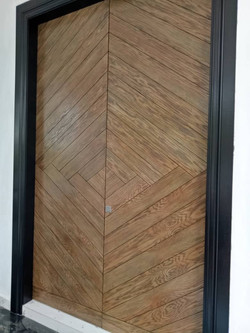 Solid Double Leaf Timber Door