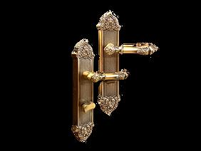 Mobile antique back plate lever handle mbaop10