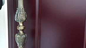 Antique Design Door Handle MOBILE MBPH12 (450mm) (Kuala Lumpur)