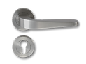 Stainless Steel On Rose Lever Handle DFX004