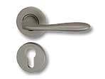Solid Brass On Rose Lever Handle IRZ010