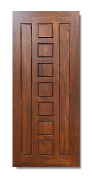 solid timber door norm 90 lumber brown
