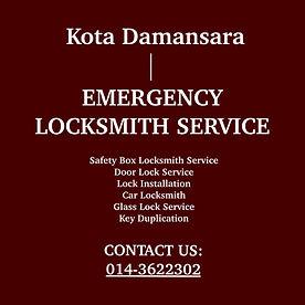 Kota Damansara Emergency Locksmith Service