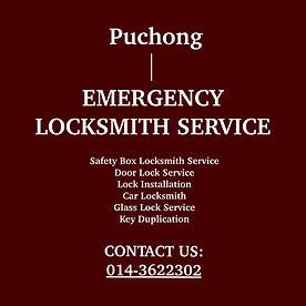 Puchong Emergency Locksmith Service