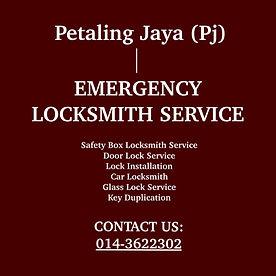Petaling Jaya Emergency Locksmith Service