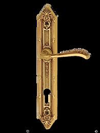 Antique Design Solid Brass On Plate Lever Handle LBR009