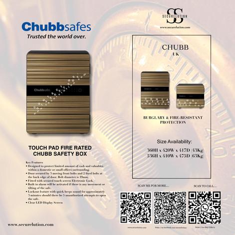 Chubb Safe Naomi 50 Wooden (UK)