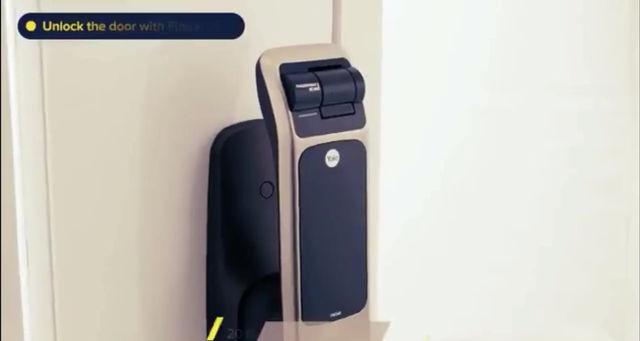 Yale Digital Door Lock YMG30 Push Pull (Kuala Lumpur)